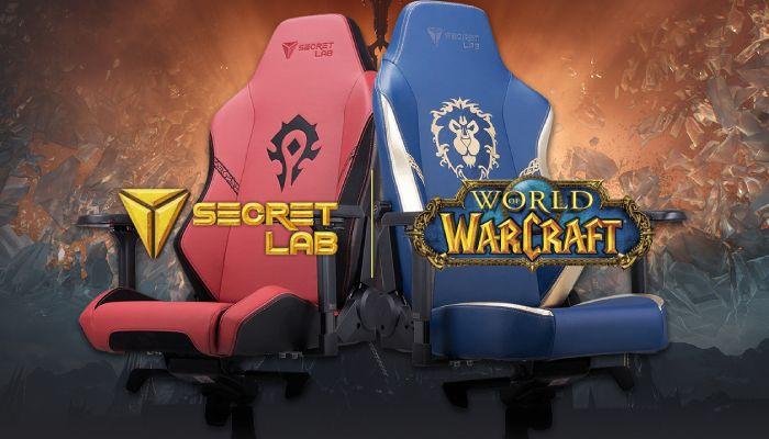 Revisión de la silla para juegos World of Warcraft x Titan