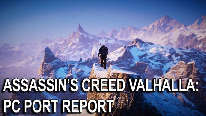 Assassin's Creed Valhalla: revisión del puerto de PC