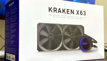 NZXT Kraken X63 AIO CPU Cooler Review