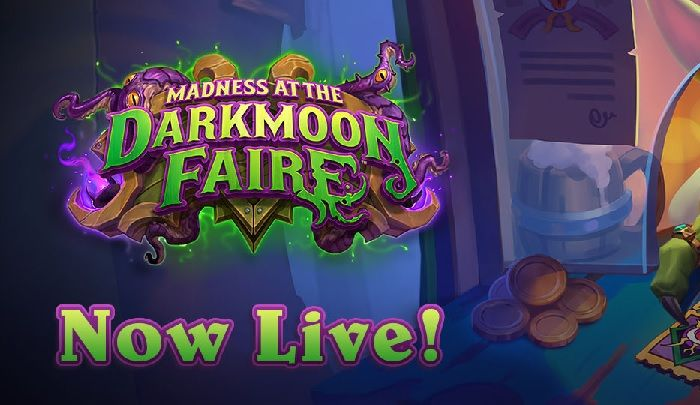 Hearthstone Expansion 'Madness at the Darkmoon Faire' Live Now