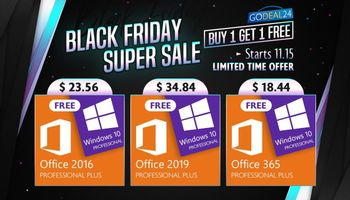 Black Friday Super Sale - Get windows 10 For Free  (SPONSORED)
