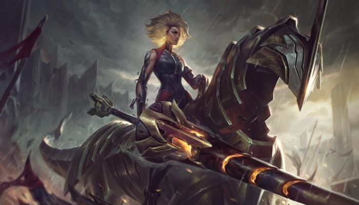 League of Legends Showcases Its Upcoming Champion, Rell The Iron Maiden