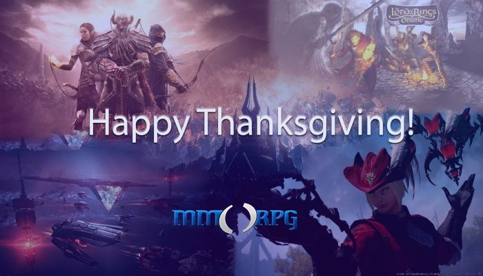 MMOSide Chat: Happy Thanksgiving - What Are You Playing This Holiday?