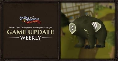 Old School RuneScape's Getting Ahead Update Now Live