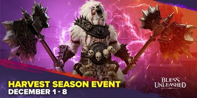 Bless Unleashed Harvest Season Event Starts NOW - It's Harvesting Time!