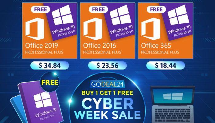 Oferta de Cyber Week - Obtenga Windows 10 gratis (PATROCINADO)