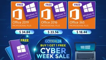 Cyber Week Sale - Get Windows 10 For Free (SPONSORED)