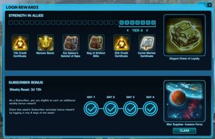 SWTOR Outlines New Login Rewards and Emote Window Arriving in Update 6.2