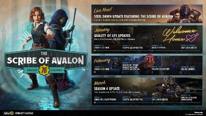 Вот ваш обновленный календарь сообщества Fallout 76, включая обновления QOL и многое другое    MMORPG.com