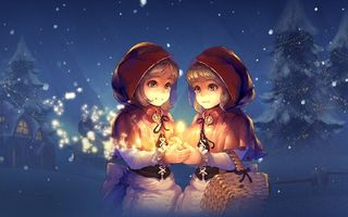 Lineage II's Matchstick Sisters Holiday Dinner Event Is Going On Now