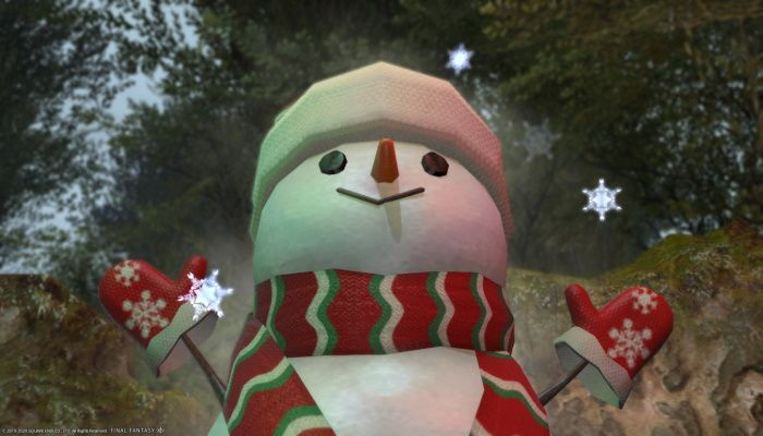 Snowman Hordes Gather In Final Fantasy XIV Thanks To New Player Mount