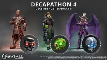 Crowfall's Decapathon Event Is Live