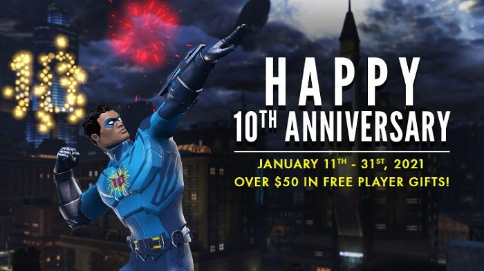 DC Universe Online Releases their 10th Anniversary Producers Letter