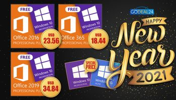 Best New Year Sales 2021: Get Windows 10 CD-Key for free! (SPONSORED)