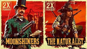 Moonshiners and Naturalists Receive Bonuses in Red Dead Online This Week