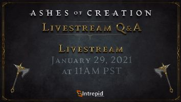 Ashes of Creation Next Live Stream Scheduled for January 29