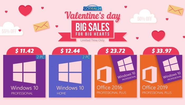 Ко Дню всех влюбленных — особенный подарок!  Купите пару, сэкономьте больше на Windows 10 (ПРИ ПОДДЕРЖКЕ) |  MMORPG.com