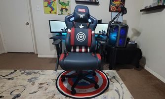 AndaSeat Captain America Edition Marvel Collaboration Series Gaming Chair Review