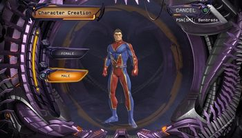 DCUO - The Art of Character Creation