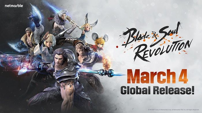 Blade & Soul Revolution выйдет на Android и iOS 4 марта |  MMORPG.com