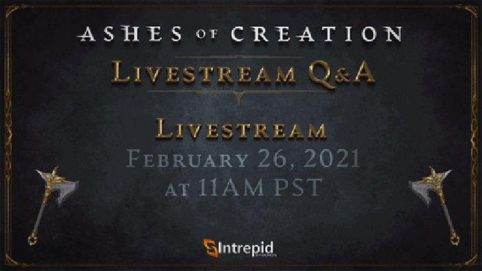 Следующая прямая трансляция Ashes of Creation состоится 26 февраля |  MMORPG.com