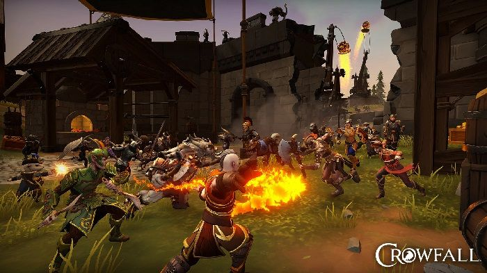 Crowfall Live Patch Tweaks Powers, On Track to Invite 12.2 Group Soon