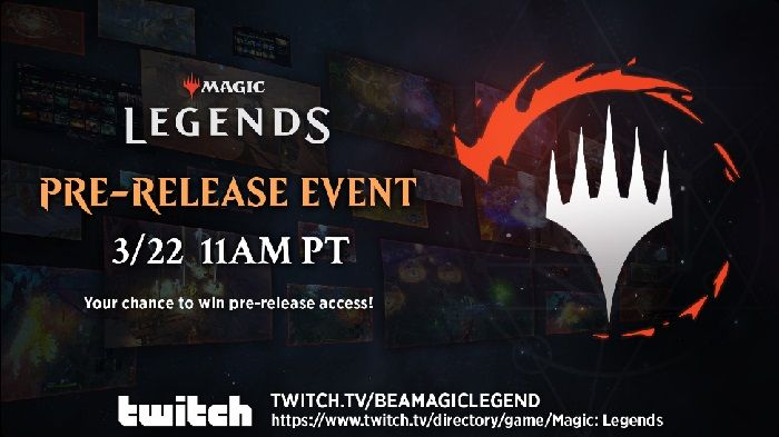 Magic: Legends Open Beta Pre-Release Event Live Streaming Today at 2p ET