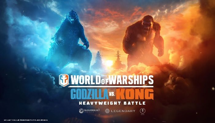 Godzilla and Kong Head to World of Warships and World of Warships: Legends