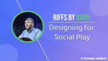 Raph Koster Explores Social Play In MMOs In Latest Playable Worlds Blog Update