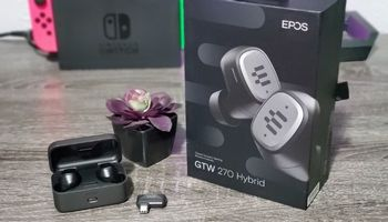 EPOS GTW 270 Hybrid Wireless Earbuds Review
