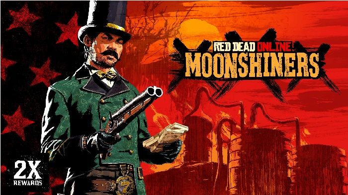 Moonshiners Score Big in Red Dead Online This Week
