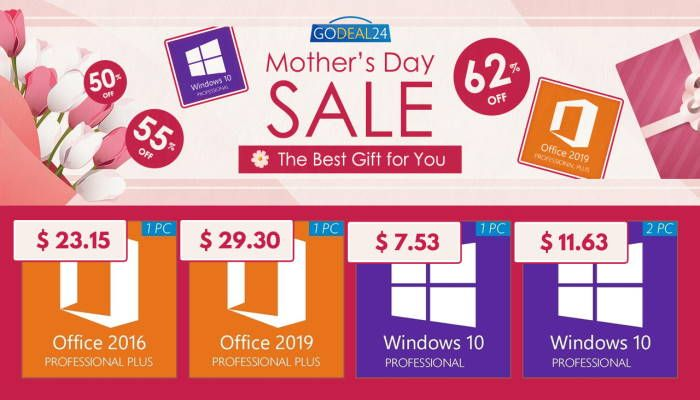 Mother's Day Sale 2021: Windows 10 Pro for $7.53 (SPONSORED)