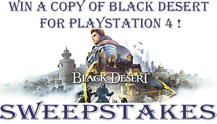 Concurso Black Desert: Prestige Edition (PS4)