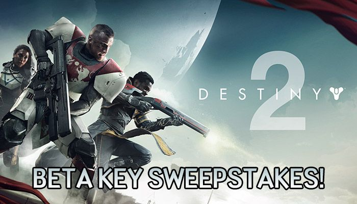 Destiny 2 PC Early Access Beta Key Sweepstakes!