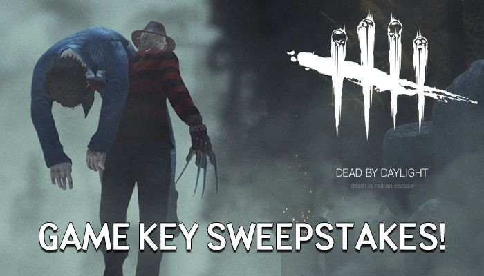 Dead By Daylight Game Key Swepstakes (Round 1)