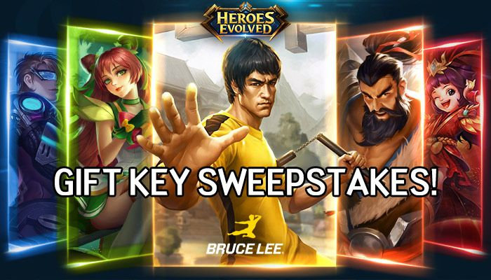 Heroes Evolved Gift Key Sweepstakes!