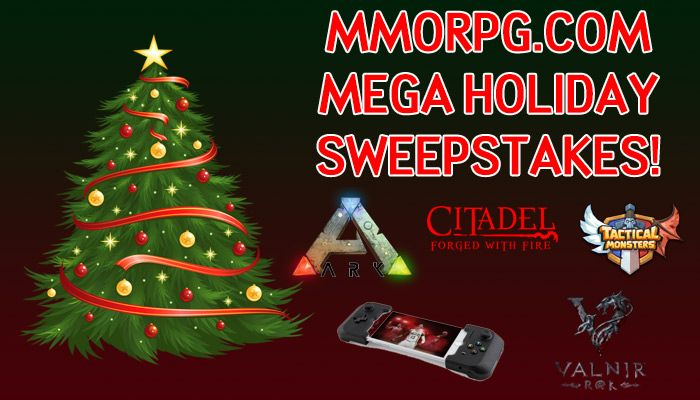 MMORPG.com Holiday Sweepstakes Event!