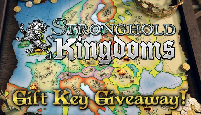 Stronghold Kingdoms Gift Key Giveaway!