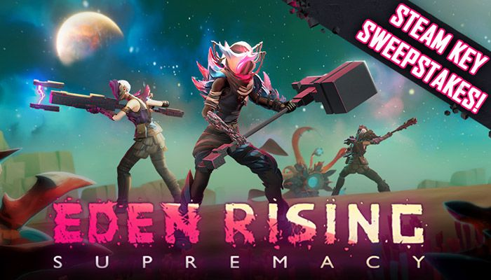 Eden Rising Steam Key Early Access Steam Key Sweepstakes!
