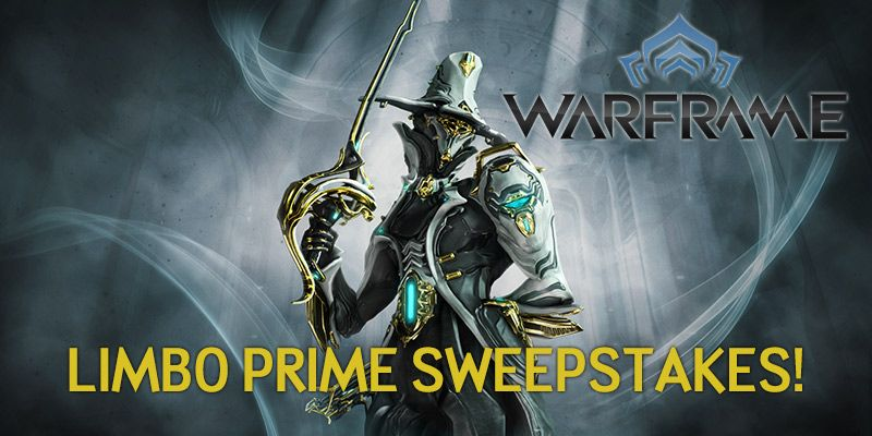 Warframe - Warframe Limbo Prime Sweepstakes!
