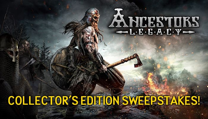 Ancestors Legacy Collectors Edition Sweepstakes!