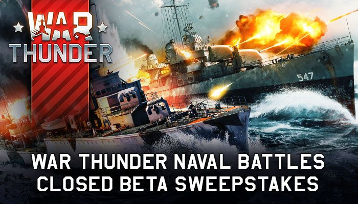 War Thunder Closed Beta Key Sweepstakes!