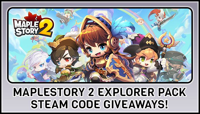 MapleStory 2 Explorer Pack Sweepstakes! - MapleStory 2 News