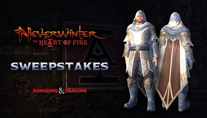 Neverwinter Courtier's Tapered Cloak Sweepstakes! (PC)
