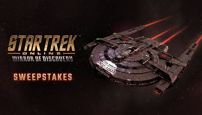 Star Trek Online: Mirror of Discovery Gift Key Sweepstakes! (PC)