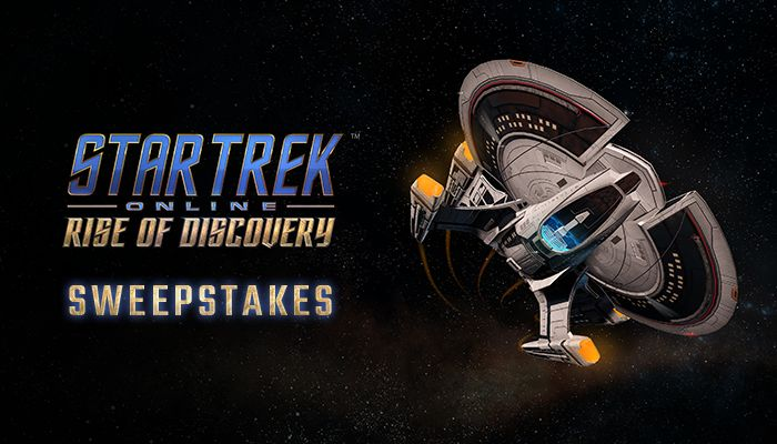Star Trek Online: Rise of Discovery Sweepstakes!