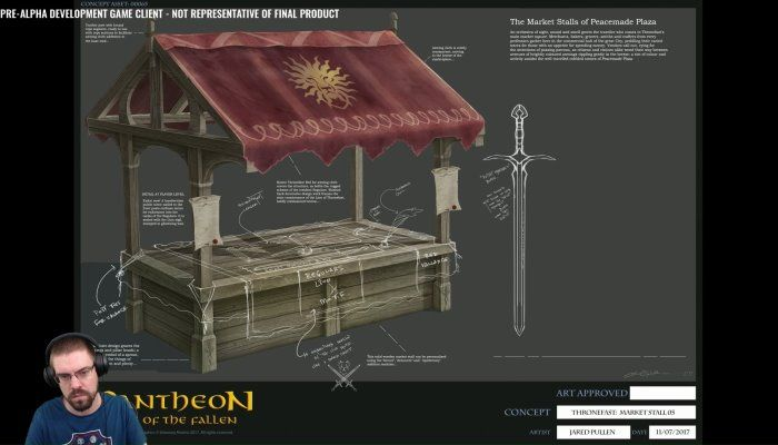 Visionary Realms Shows Off 'The Making of a City' - Pantheon: Rise of the Fallen News