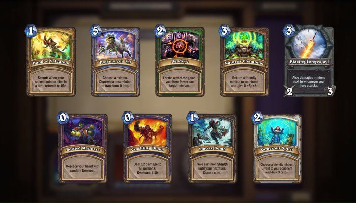 Upcoming Arena Changes Detailed in Latest Video Blog - Hearthstone News