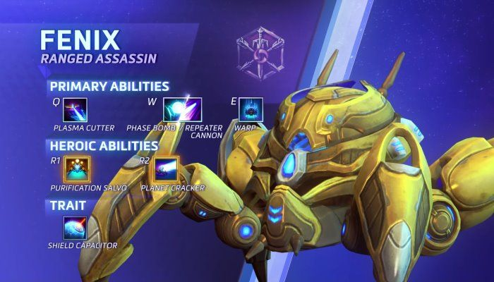 Hero Spotlight: Fenix, a New Assassin Coming to the Nexus - Heroes of the Storm Videos
