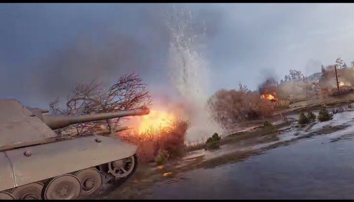 Check Out the New Graphics & Sound in v1.0 Review Trailer - World of Tanks News